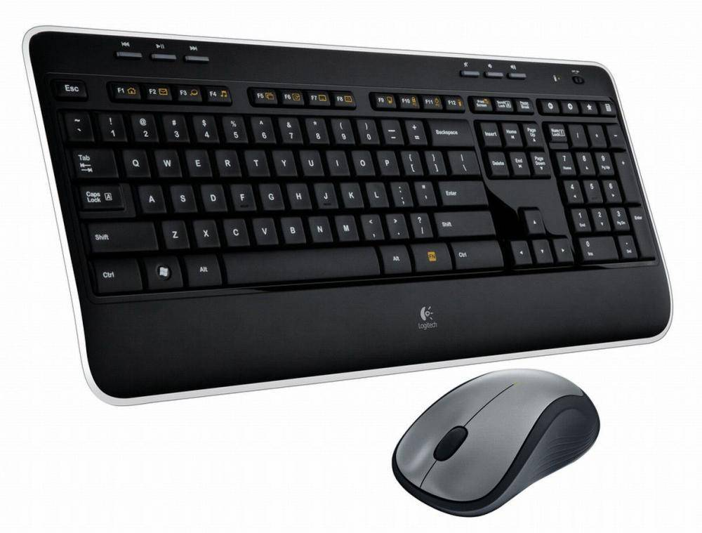 Logitech wireless keyboard and mouse