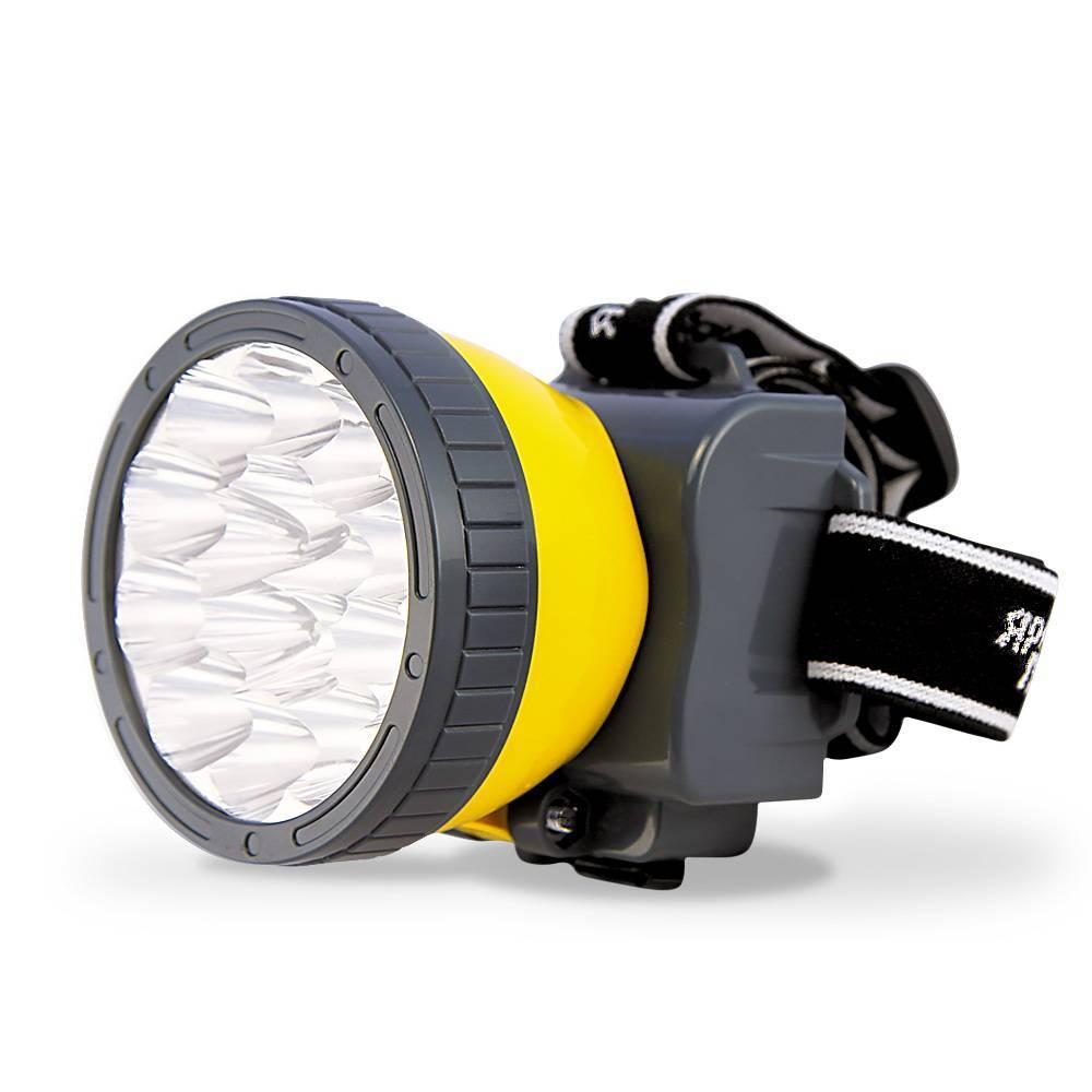 Налобный фонарик на аккумуляторе