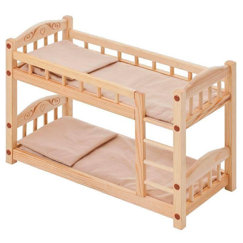 ажурная кровать для куклы фото непала