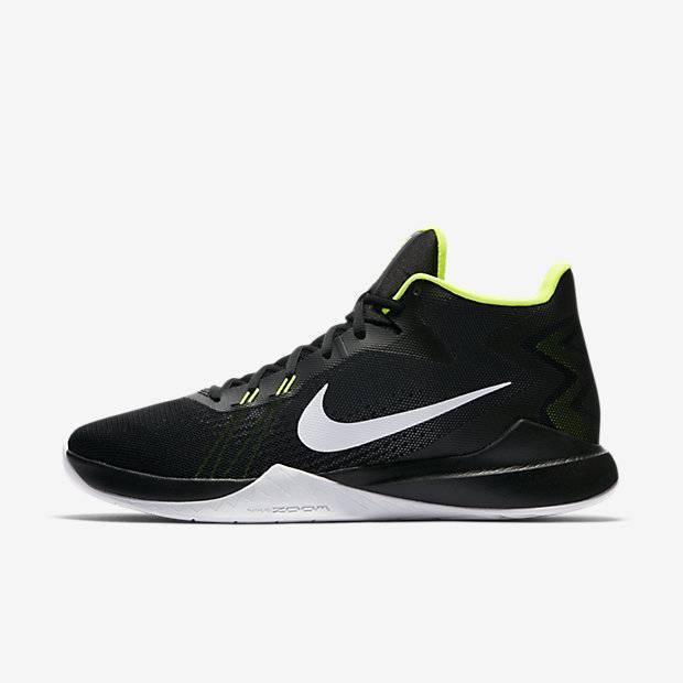 deac9b62 Мужские баскетбольные кроссовки Nike Zoom Evidence (Черный) (852464 ...