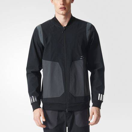 18eddae3253 Куртка White Mountaineering Varsity Adidas BRS90 (Black) для мужчин ...