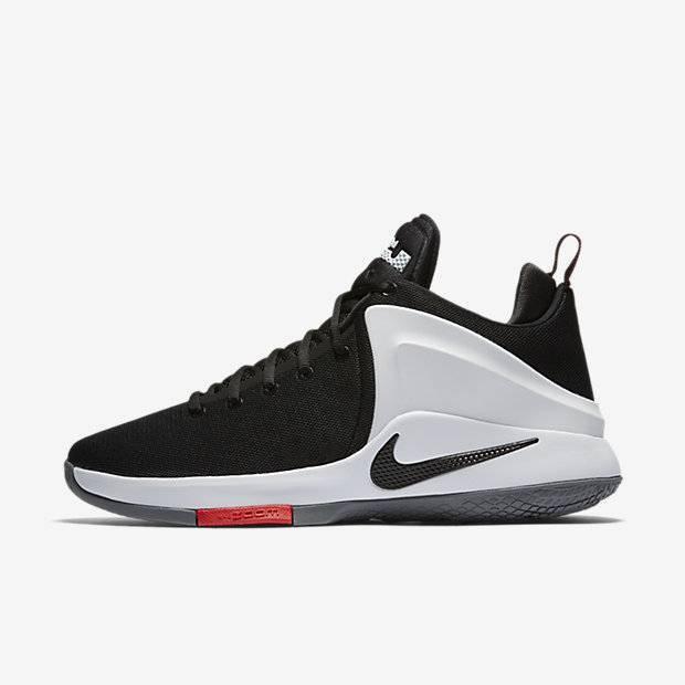 dbb51db3 Мужские баскетбольные кроссовки Nike Lebron Witness (Черный) (852439 ...